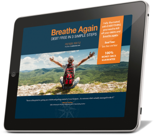 Breathe Again - Debt Free in 3 Simple Steps | iPad Edition