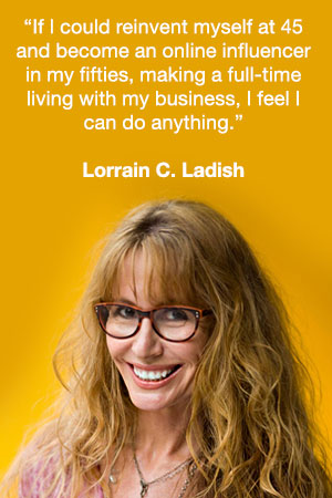Lorraine Ladish Quote - Midlife Mentors | Midlife Tribe