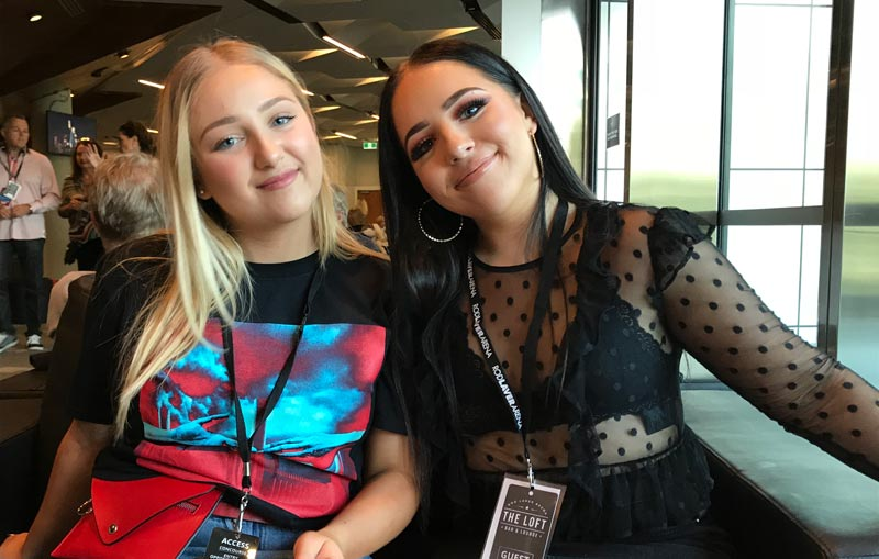 My girls at the Roger Waters concert | Midlife Tribe