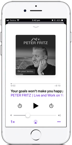 Peter Fritz Podcast - On Your Terms