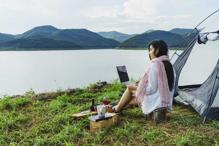 Work from anywhere - even if you have a job | Midlife Tribe